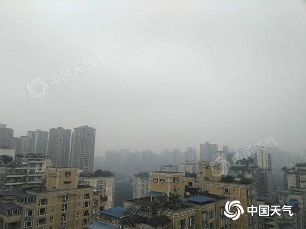 重庆10月来平均气温创历史同期第三低 阴雨又将来袭