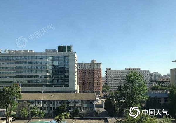 北京今天阵风可达7至8级