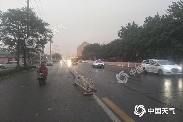 """""""退烧雨""""今日上线 未来三天河北局地暴雨+强对流"""