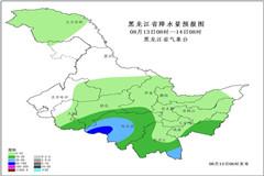 台风外围云系影响黑龙江13-17日有两次较大降雨过程