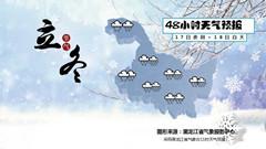 黑龙江省气象台11月16日11时发布大到暴雪预报