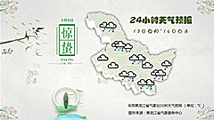 黑龙江14日又迎大范围小雪或雨夹雪天气,局地有中雪
