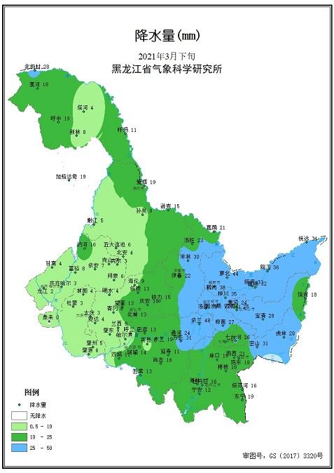 3月下旬农业气象旬报.