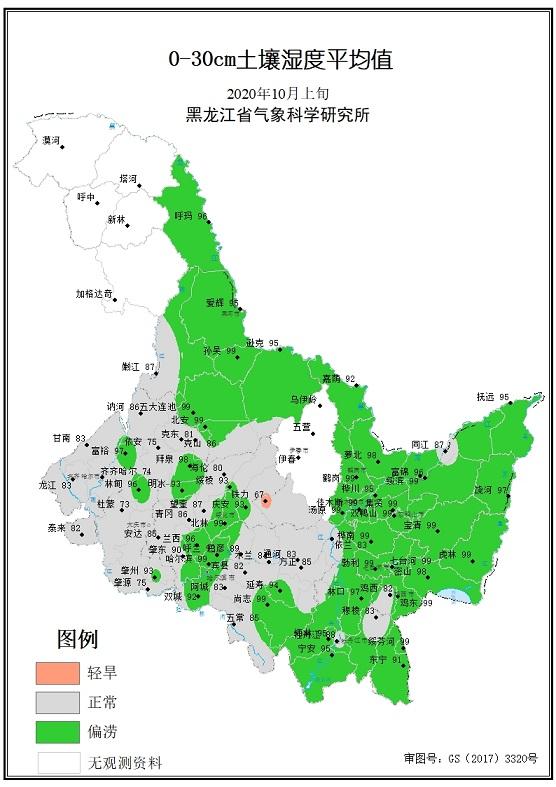 10月土壤水分监测公报