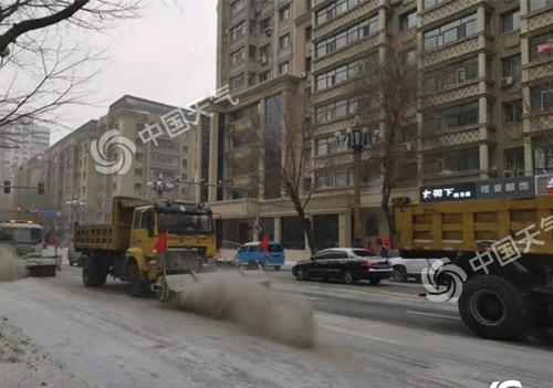 黑龙江今迎风雪天气,省气象台发布道路结冰黄色信号