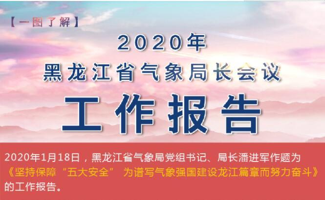 2020年黑龙江省气象局长会议工作报告