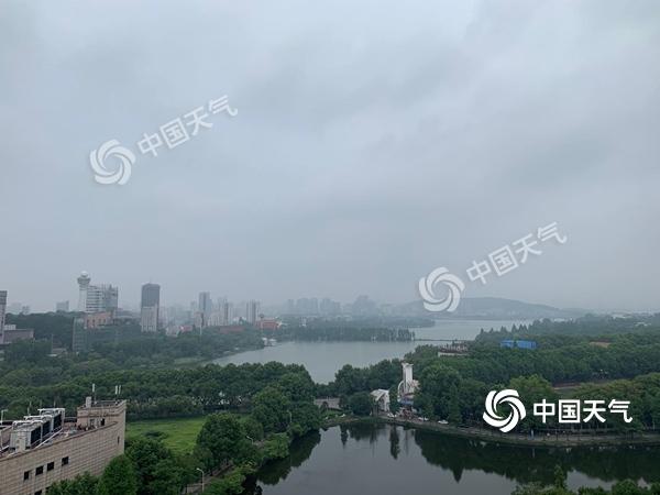 今夜起新一輪較強降水再襲湖北 武漢等地有暴雨出現