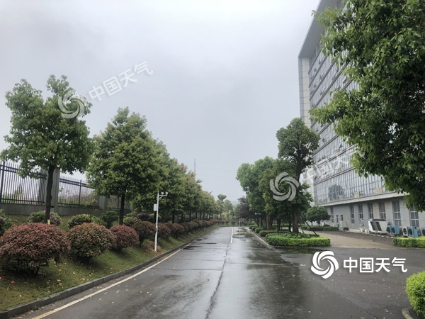 """周末湖南阴雨""""打卡"""" 湘南局地有大到暴雨"""