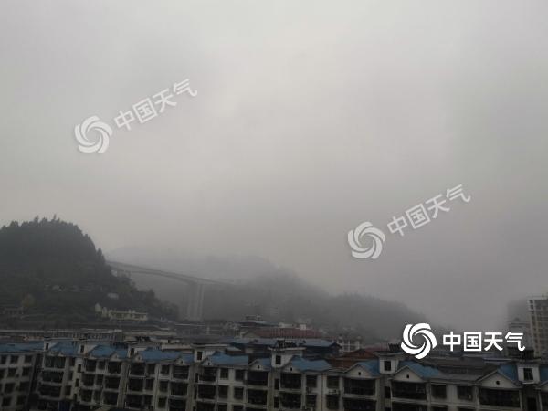 湖南未来三天有小雨过程气温低迷 12月2日起天气转晴