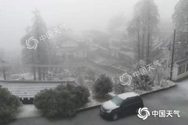 今明两天湖南降水发展 12日局地大雾需注意防范
