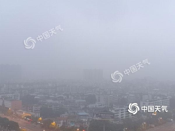 未来三天湖南阴雨持续 局地山区有雨夹雪或冻雨