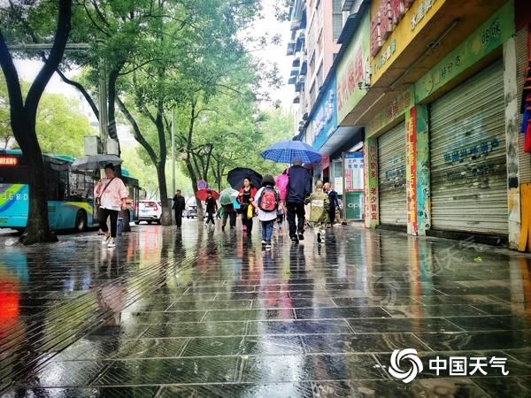 湖南新一轮降雨过程再度上线 明天湘南局地有暴雨