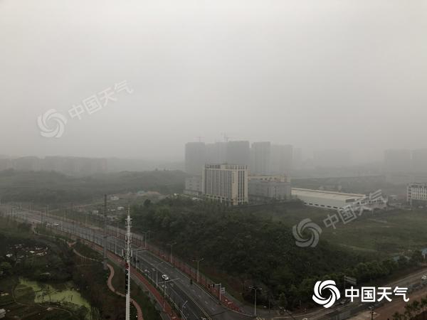 清明假期雨纷纷 湘西、湘北局地中到大雨