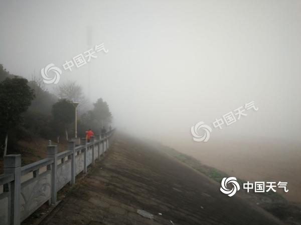 今晨江西多地大雾来扰 今晚起新一轮降水来袭