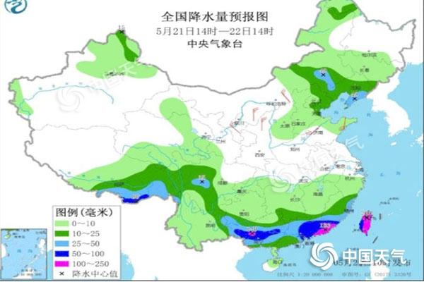 未来五天仍多降雨 东部气温持续较低