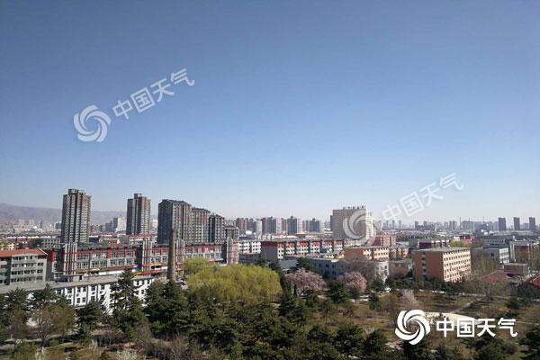 内蒙古急速回温17日乌海市最高温