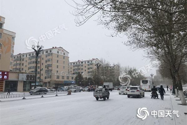 内蒙古立冬后迎强冷空气 明天多地有中到大雪