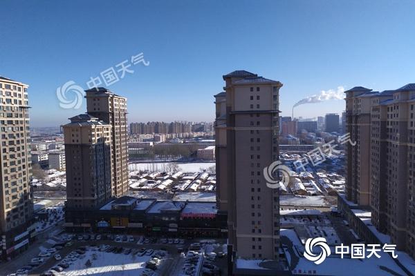 内蒙古1月上旬降水为近60年同期最多