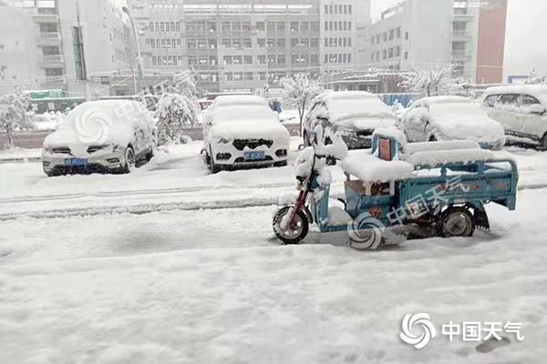 青海海北出现暴雪天气过程  有效