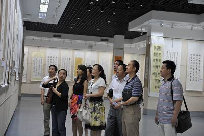 济南气象局参加建党90周年廉政文化展