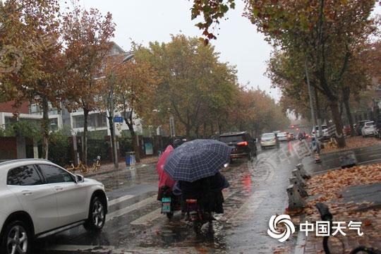 山东雨水明天暂停 寒潮预警持续中