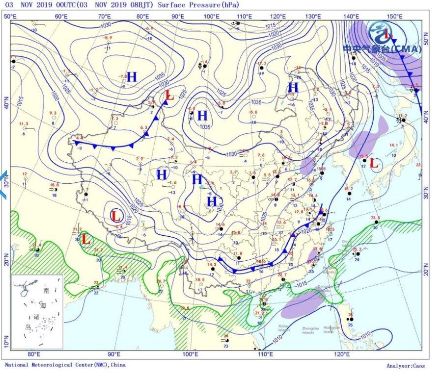 下周云多雨少天气干燥  周末有降温