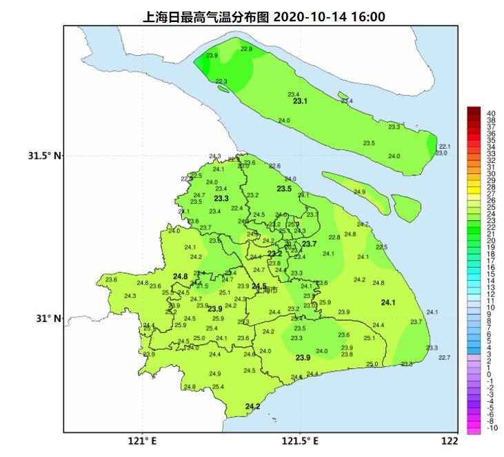 申城雨水频率增多 气温有起伏