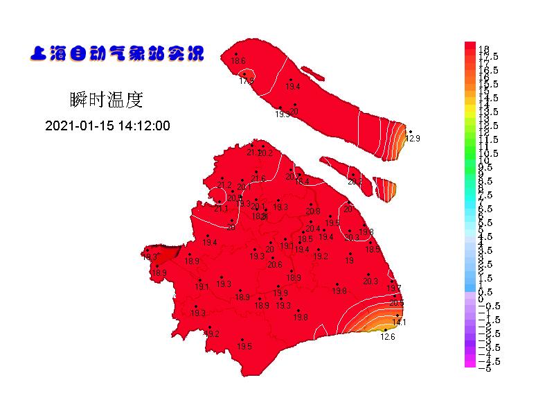 冷空气影响 寒潮&大风双预警高挂中