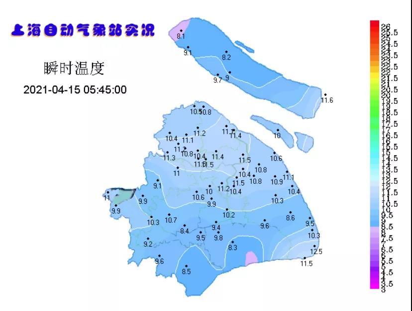 冷空气影响仍在 明日气温重回20℃+