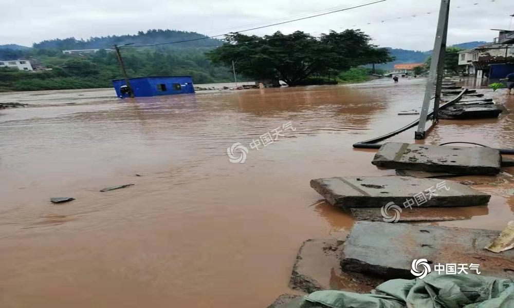 泸州遭遇今年最强降水,古蔺雨量超历史极值
