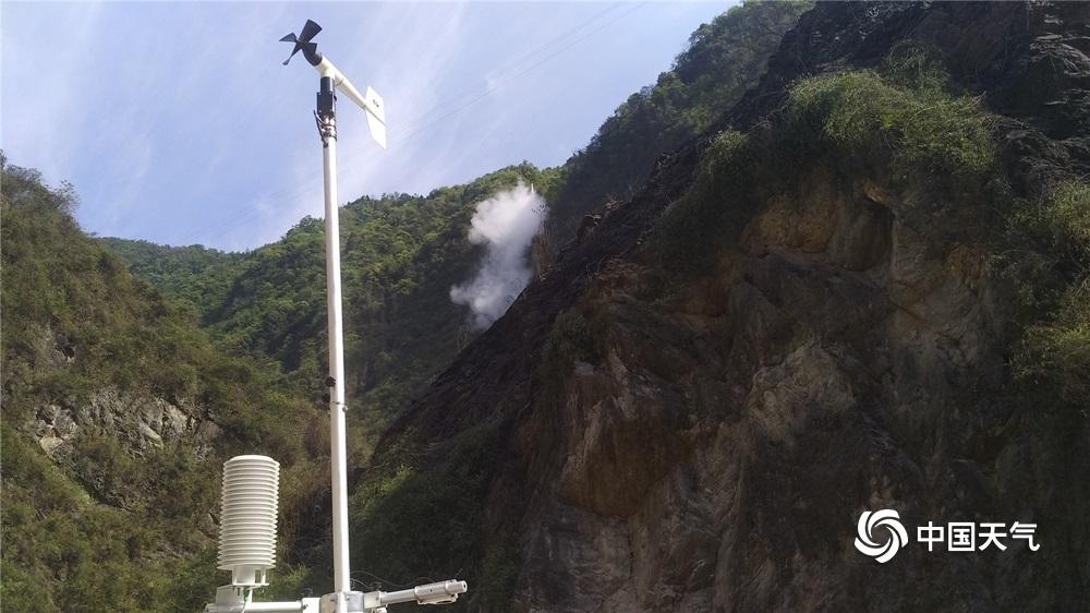 安州千佛发生森林火灾绵阳气象局启动三级应急响应