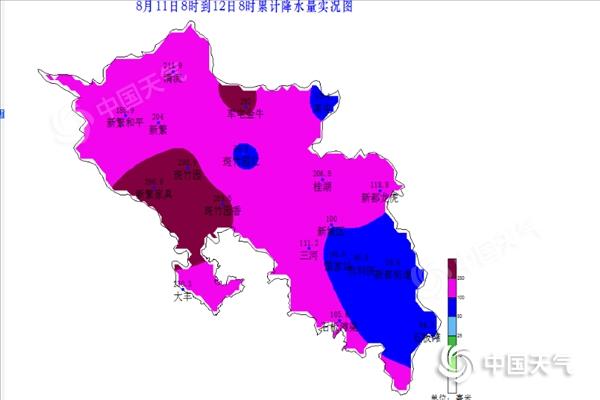 成都市新都区迎来今年汛期首场区域性大暴雨天气过程