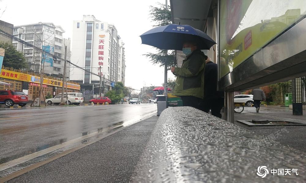 冷空气带来大风降雨  绵阳告别晴暖天气