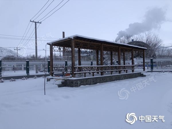 青河节前迎大雪  瑞雪兆丰年