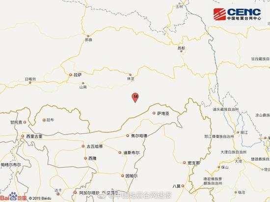 墨脱6.3级地震:县城震感强烈暂无伤亡报告