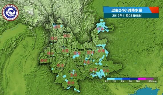 明天滇东、滇西南边缘地区有小雨