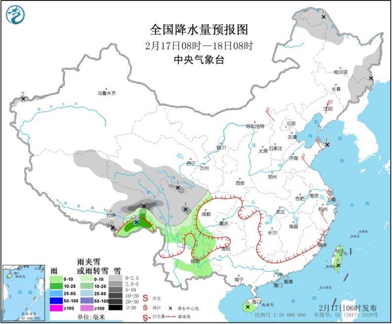 云南中东部阴冷天气仍持续 市民朋友添衣保暖防感冒!