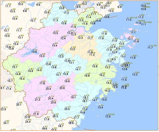 今(20日)降水持续温差小 双休天气渐转好