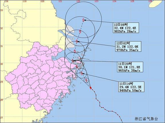 台风最新动态 11日08时