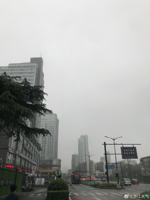 五一前夕浙江还有一次强降雨过程  注意防范