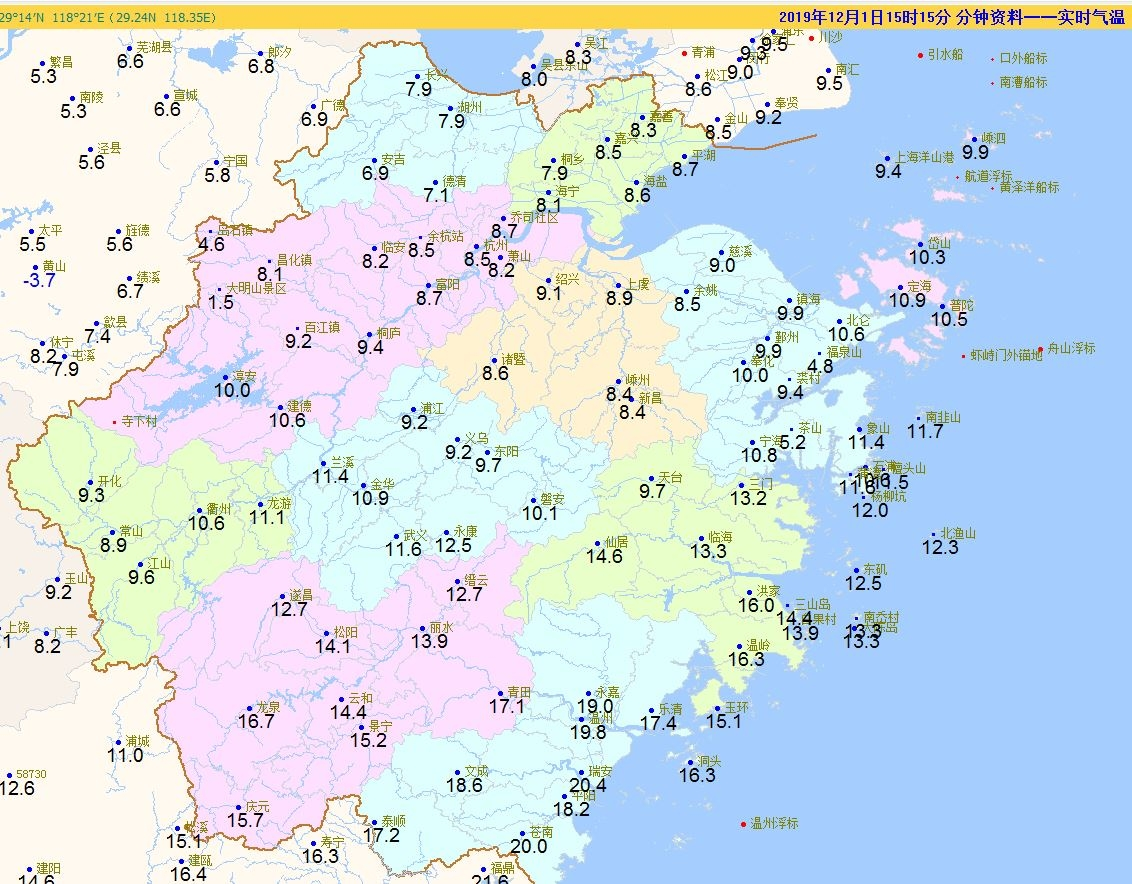 零下!霜!霜冻!下周的气温有点苦
