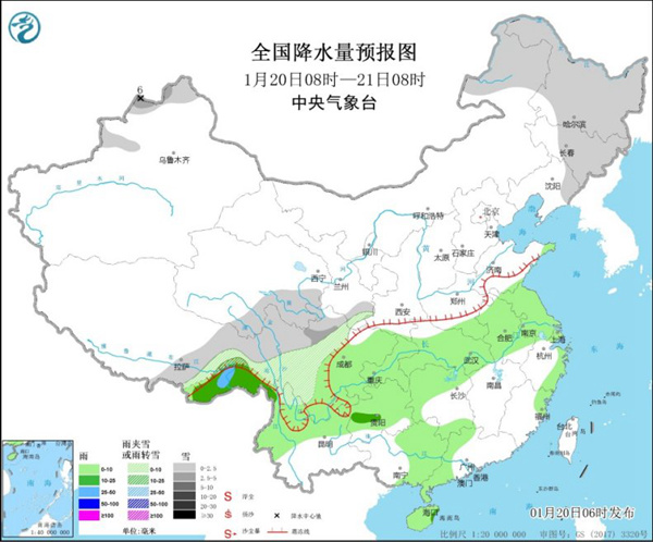 南方阴雨今起发展 东北引领气温大回暖