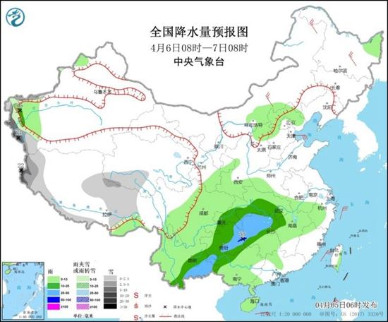 本周南方陰雨頻繁 東北氣溫大起大落