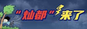"""直击今年第14号台风""""灿都"""""""
