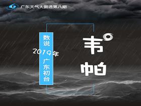 数说2019年广东初台——韦帕