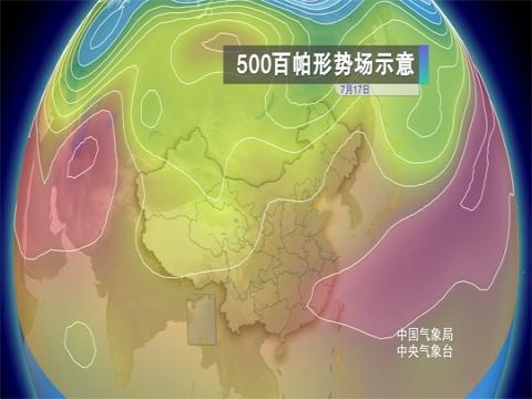 17日后 江淮地区将迎降雨过程