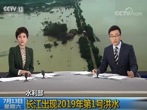 水利部:长江出现2019年第1号洪水