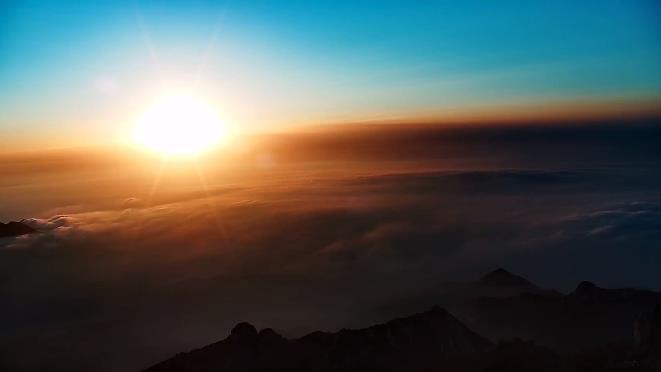 我的天空:带你看日出日落 云卷云舒