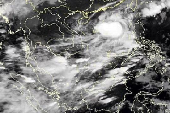 星眼看地球:台风黄色预警继续生效中