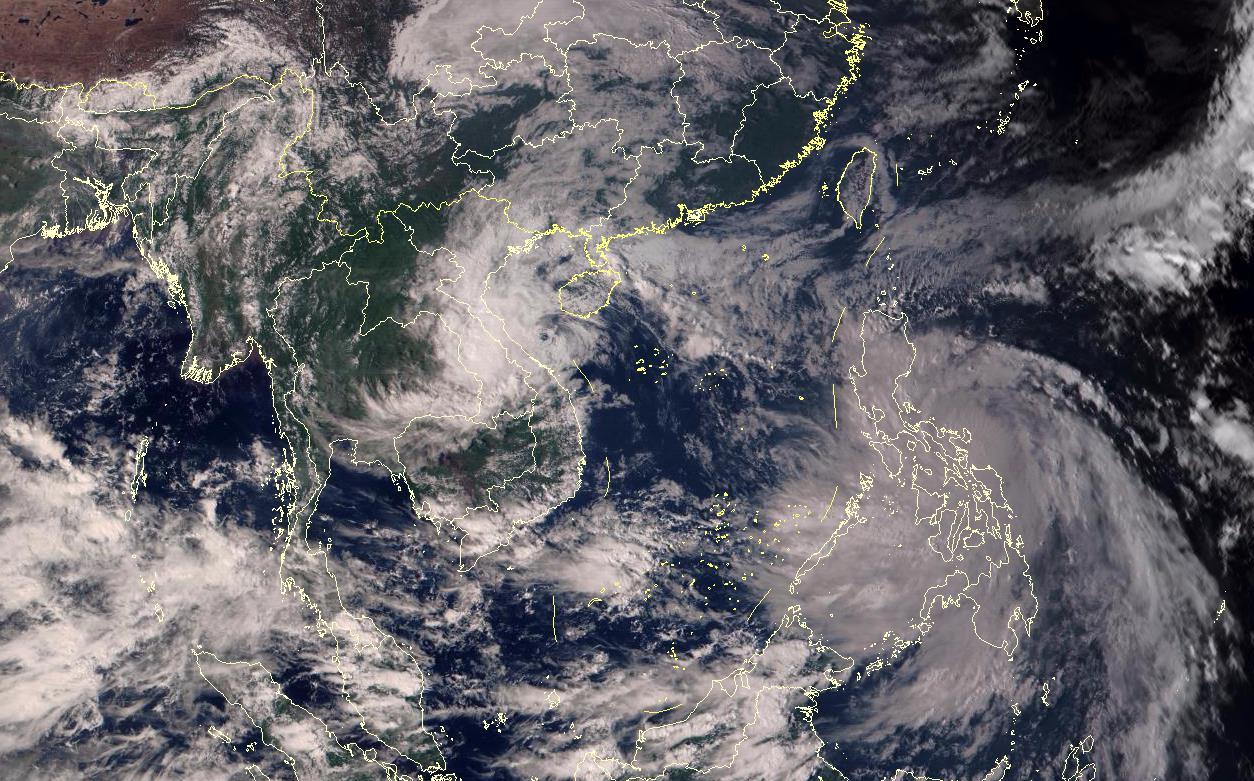 """星眼看地球:台风""""莫拉菲""""蓄势待发"""